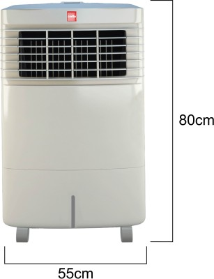 Cello Trendy Plus 30 Room Air Cooler(White, 30 Litres)  available at flipkart for Rs.6899