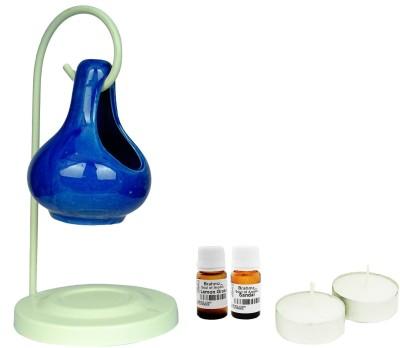 Brahmz Lemon Grass / Sandal Aroma Oil, Diffuser Set(20 g)