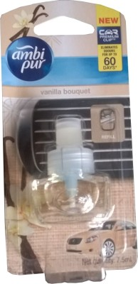 Ambi Pur Car Perfume Vanilla Bouquet - Refill(7.5 ml)  available at flipkart for Rs.280