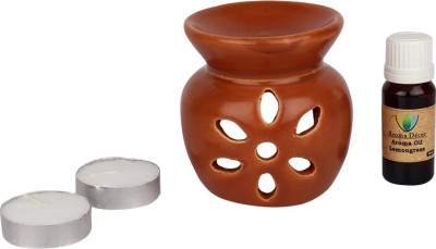 Aroma Decor Lemongrass Aroma Oil, Diffuser Set(10 ml) at flipkart
