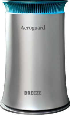 Eureka Forbes Aeroguard Breeze Portable Room Air Purifier(Silver & Black)