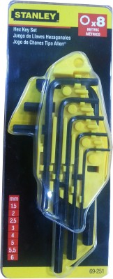 Stanley-69-251-Hex-Key-Set