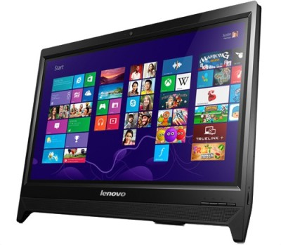 Lenovo - (Celeron Dual Core/2 GB DDR3/500 GB/Free DOS)(Black, 19.5 Inch Screen)