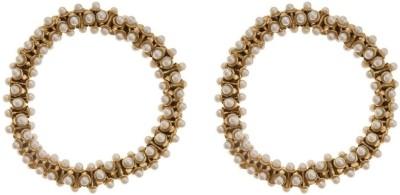 The Jewel Box Brass Anklet(Pack of 2) at flipkart