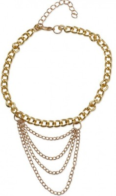 FemNmas Multi Chain Shoe Heel Alloy Anklet at flipkart
