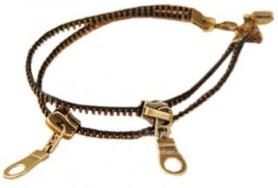 Crunchy Fashion Zipper Anklet Alloy Anklet
