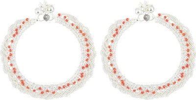 Beadworks Copper Anklet(Pack of 2) at flipkart