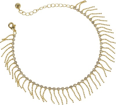 Muchmore Much More Tradtional Design Fashion Singel Anklet Partywear Jewelry For Women Alloy Anklet at flipkart