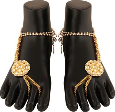 Sri Shringarr Fashion Copper Anklet(Pack of 2) at flipkart