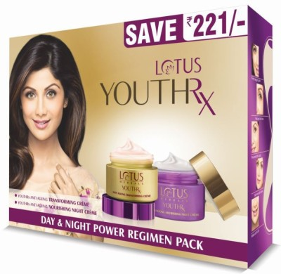 Lotus Herbals YouthRx Day & Night Power Regimen Pack(100 g)
