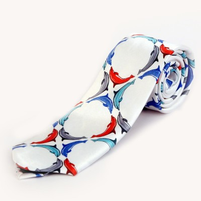 Blacksmith Happy Dolphins Design Graphic Print Men Tie at flipkart