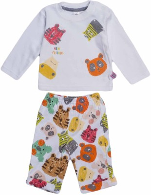 Toffyhouse Girls T-shirt Trouser(Multicolor)
