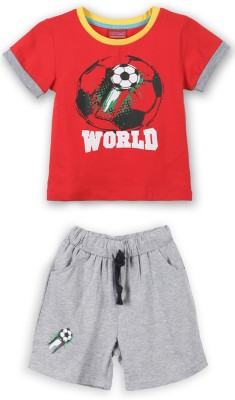 Lilliput Boys Casual T-shirt(Red)