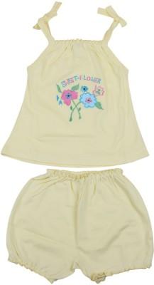 Belle Girl Girls T-shirt(Yellow)