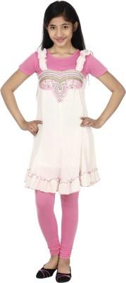 Sienna Girls Party(Festive) Top(Pink)