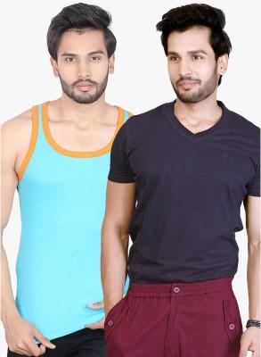 LUCfashion T-shirt Men's  Combo  available at flipkart for Rs.300