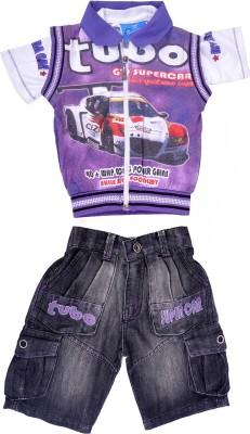Good Boy Boys T-shirt(Purple)