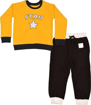 Gkidz Boys Casual T-shirt(Yellow)