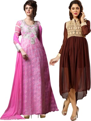 Manthan Gown Women's  Combo