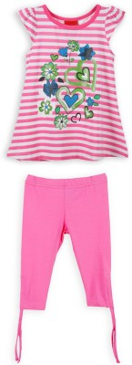 Lilliput Girls Casual Top(Pink)
