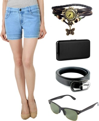 Ansh Fashion Wear Shorts Women's  Combo