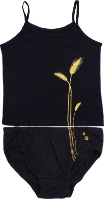 Chukbhuk Girls Casual Panty(Black)