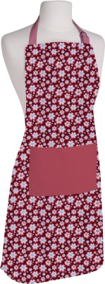 Airwill Cotton Home Use Apron - Free Size(Pink, Red, White, Multicolor, Single Piece) at flipkart