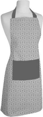 Airwill Cotton Home Use Apron - Free Size(Grey, Single Piece) at flipkart