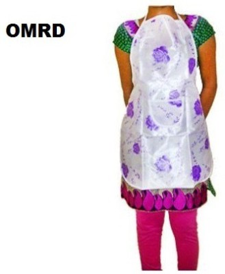 OMRD Cotton Home Use Apron - Free Size(Multicolor, Single Piece) at flipkart