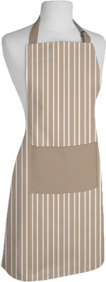 Airwill Cotton Home Use Apron - Free Size(Beige, White, Single Piece) at flipkart