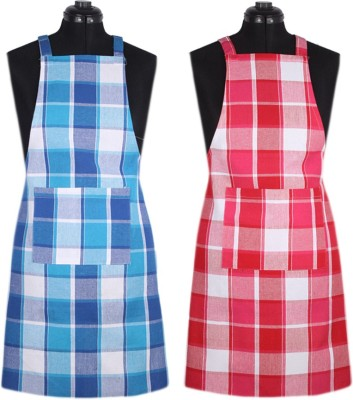 SBN New Life Style Cotton Home Use Apron - Free Size(Multicolor, Pack of 2) at flipkart