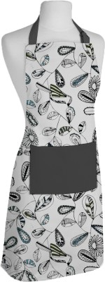 Airwill Cotton Home Use Apron - Free Size(Grey, Multicolor, Single Piece) at flipkart