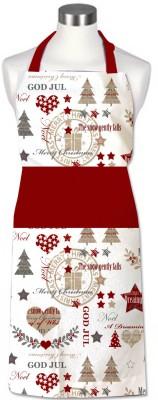 Cotonex Cotton Home Use Apron - Free Size(Multicolor, Single Piece) at flipkart