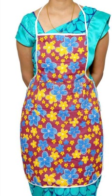 Kuber Industries Cotton Home Use Apron - Free Size(Multicolor, Single Piece) at flipkart