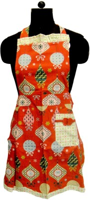 Miyanbazaz Cotton Home Use Apron - Free Size(Multicolor, Single Piece) at flipkart