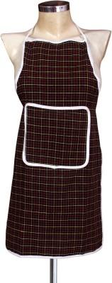 Yellow Weaves Cotton Home Use Apron - Medium(Multicolor, Single Piece) at flipkart