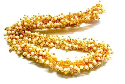 GOELX Pearl Loreals for Designer Jhumka & Necklace Making  available at flipkart for Rs.199