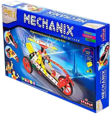 Royle Katoch Engineering System For Creative Kids Metal Mechanix Motorized Robotix 1 Cars (Multicolor)  available at flipkart for Rs.865