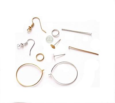 Udhayam Jewel Making Kit-Gold & Silver 11 items
