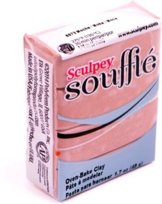Sculpey Soufflé Polymer Clay 1.7oz Mocha  available at flipkart for Rs.225
