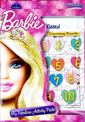 Barbie My Fabulous Activity Pack
