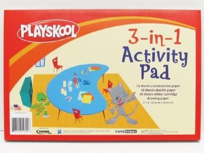 Playskool 3-In-1 Activity Pad (64-Sheet)