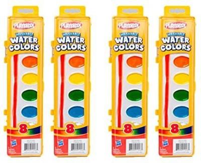 Playskool Washable Water Paint Set Of 8 Colors (4 Packs)