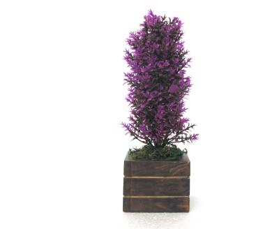 Miracle Retail Bonsai Wild Artificial Plant  with Pot(21 cm, Multicolor) at flipkart