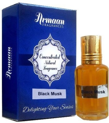 Armaan Black Musk ( Two Pcs Set) Floral Attar(Musk)