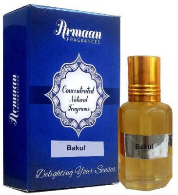 Armaan Bakul Natural Herbal Attar(Davana)
