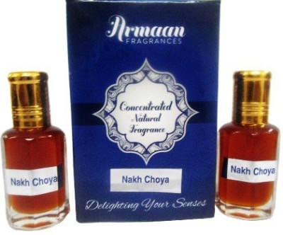 Armaan Nakh Choya ( Two Pcs Set) Floral Attar(Woody)