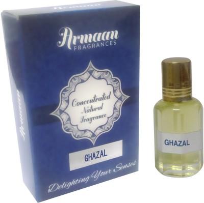 Armaan Ghazal Natural Fragrance Floral Attar(Amber)