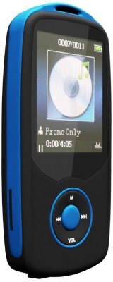 Gadget Hero's X06B 4  GB MP3 Player Blue, Black, 1.8 Display