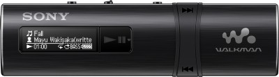 Sony NWZ-B183F 4 GB MP3 Player(Black, 2 Display)  available at flipkart for Rs.3670